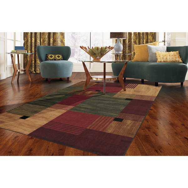 Copper Grove Whinlatter Color Block Multi Rug - 6' x 9'